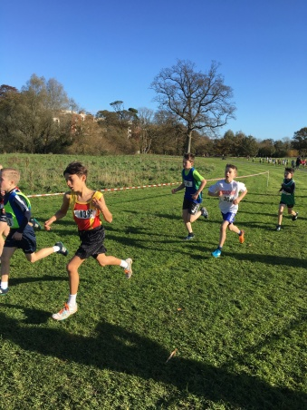 Dublin Cross Country Uneven Age-12